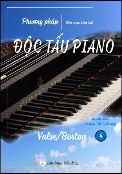 PHƯƠNG PHÁP ĐỘC TẤU PIANO NHẠC NHẸ – TẬP 4 VALSE/BOSTON